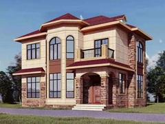 轻钢别墅占地120平方两层户型
