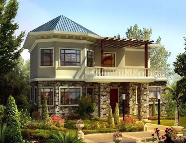 两层楼的轻钢别墅造价多少钱