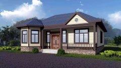 典雅精致 气派华美 推荐5套农村自建房一,二层轻钢别墅户型