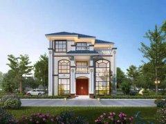 一百二十平方的轻钢别墅设计图